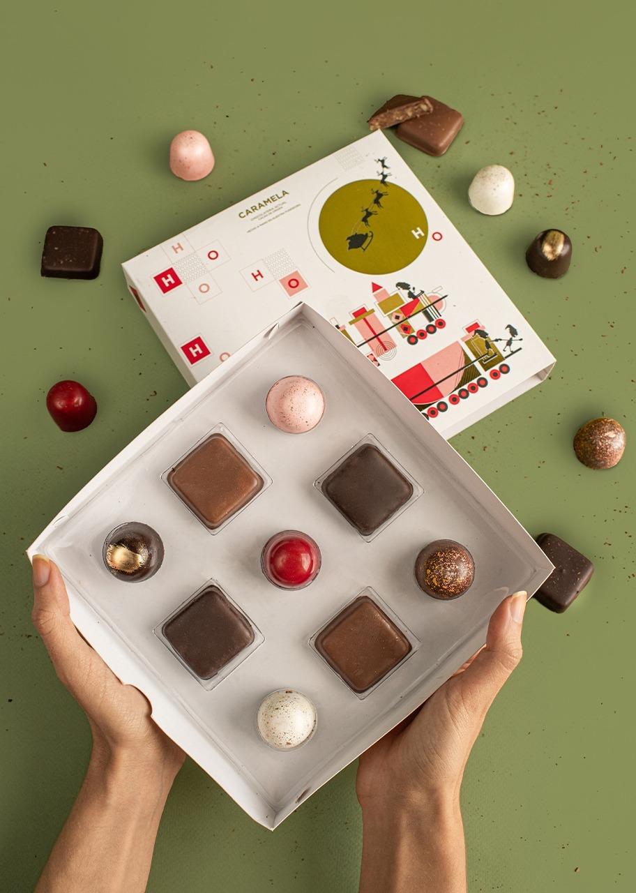 Imagen para 9 Chocolates Gourmet Navidad - 1