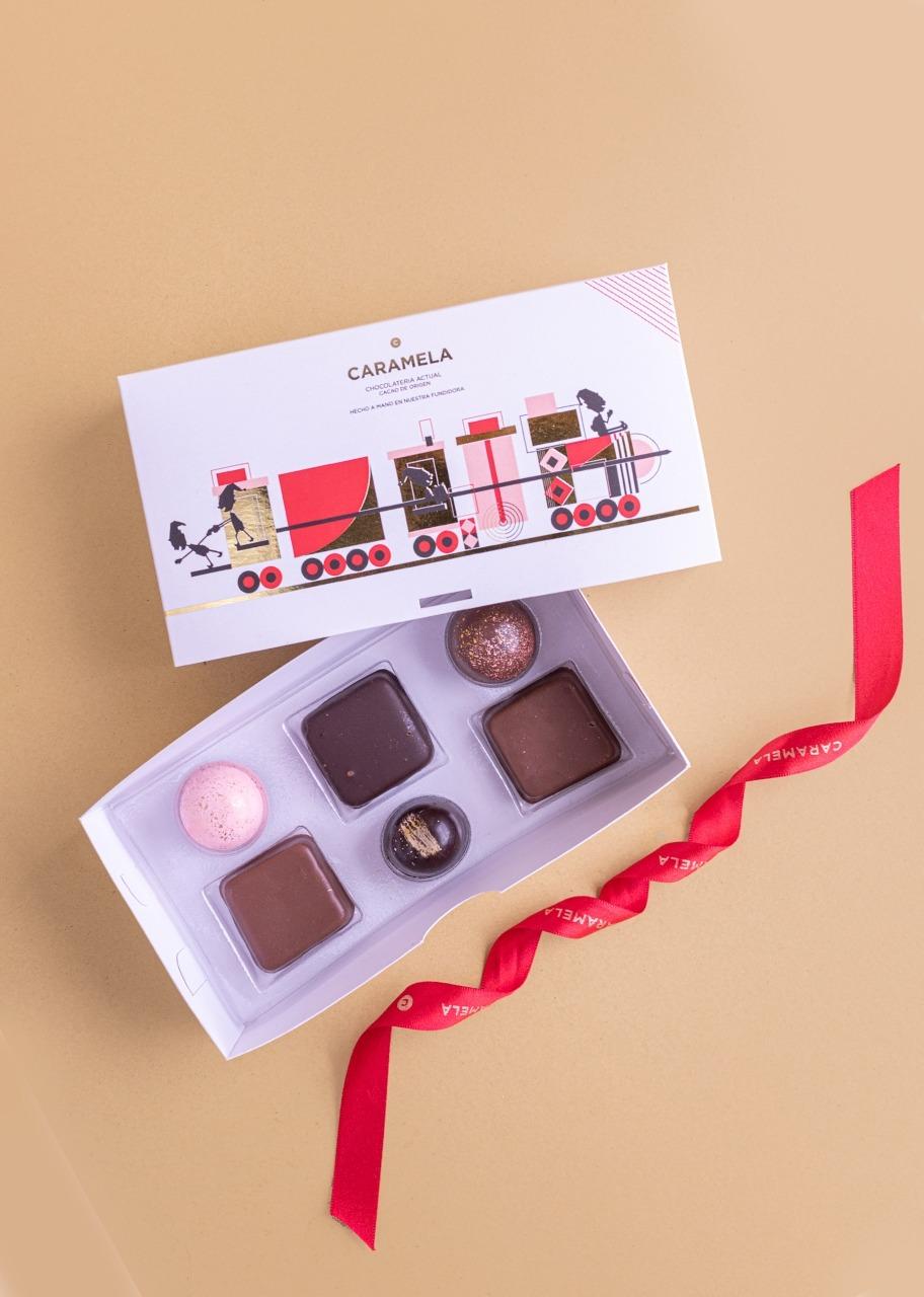 Imagen para 6 Chocolates Gourmet Navidad - 1