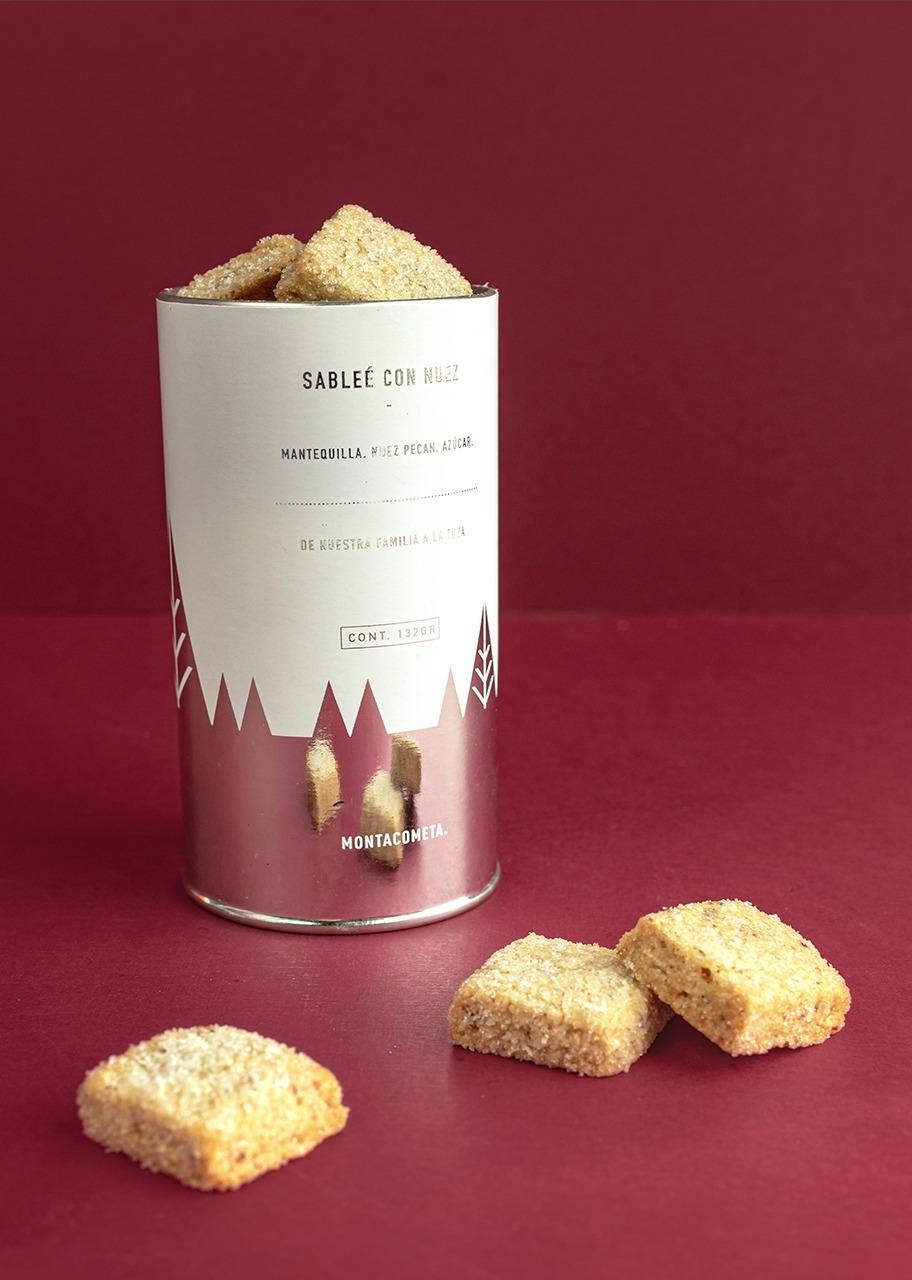 Imagen para Pecan Cookies Cylinder - 1