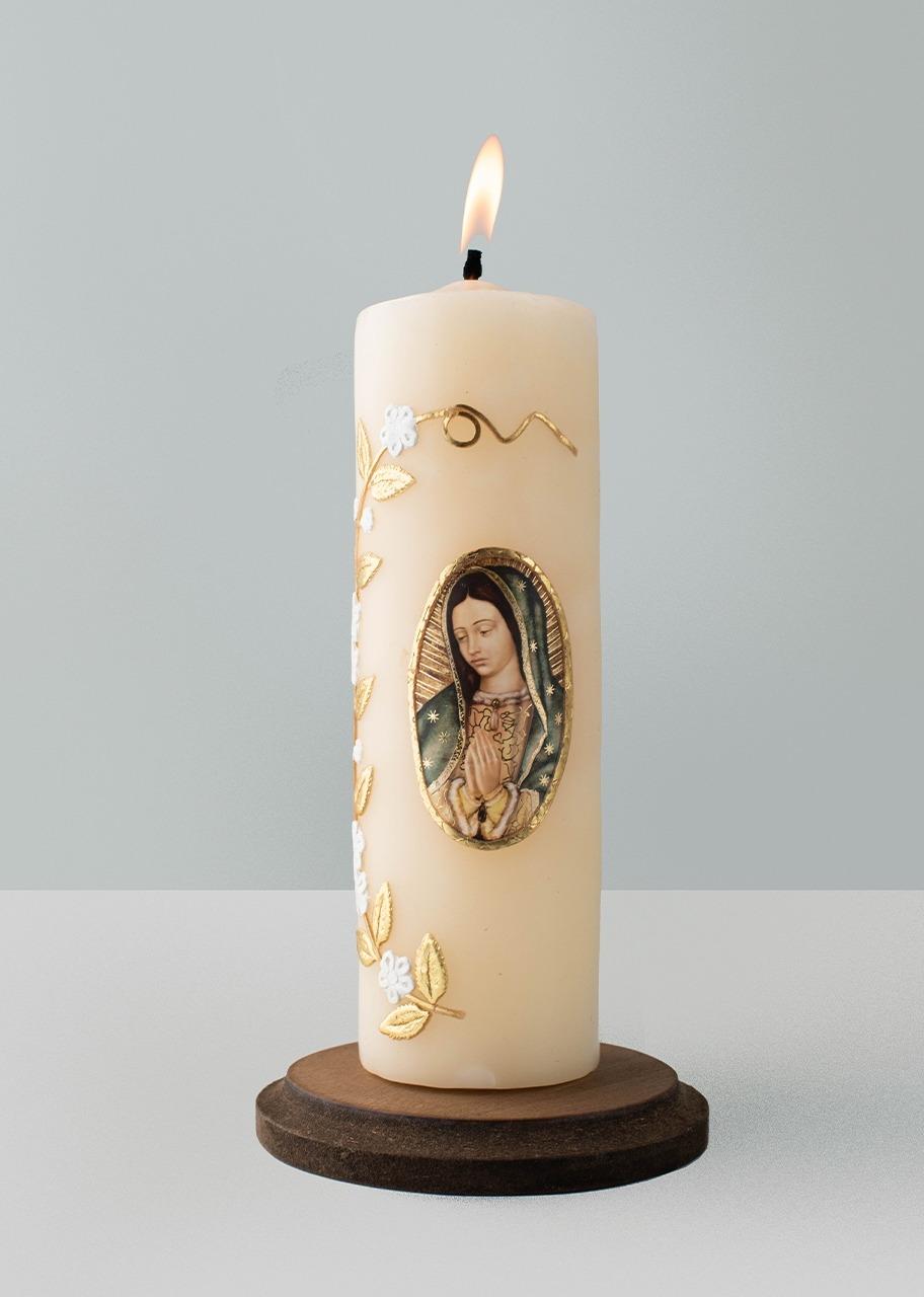 Imagen para Cirio de la Virgen de Guadalupe - 1