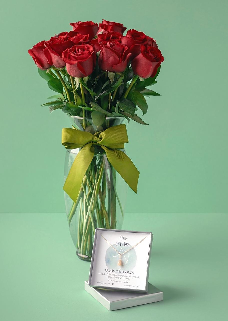 Imagen para Collar de Octubre con Rosas - 1