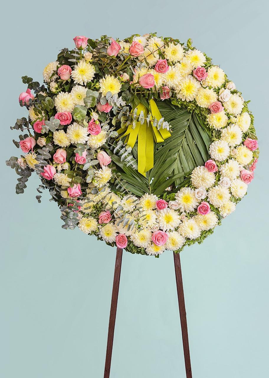 Imagen para Corona Grande Condolencias - 1