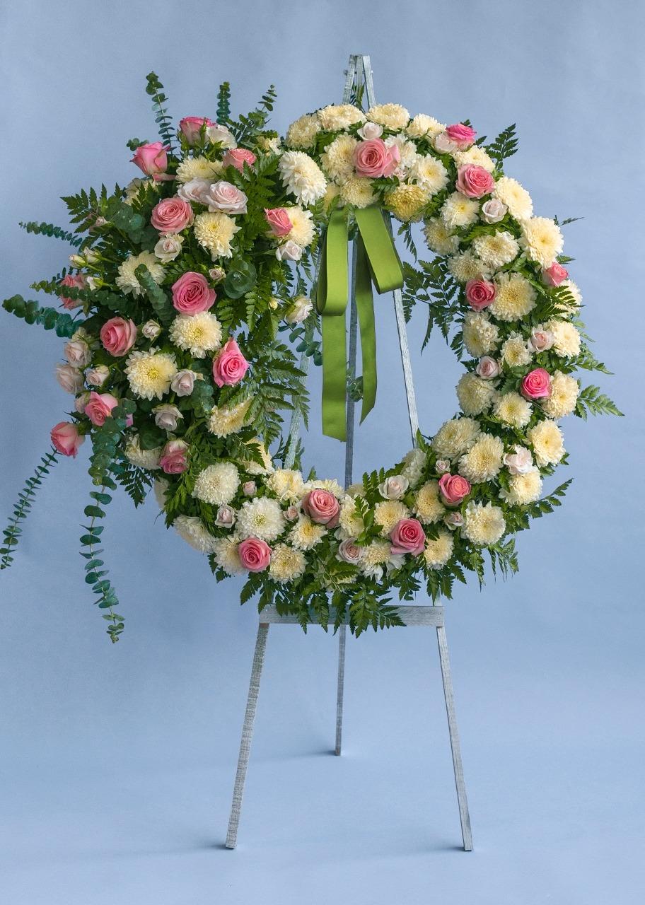 Imagen para Corona Mediana Condolencias - 1