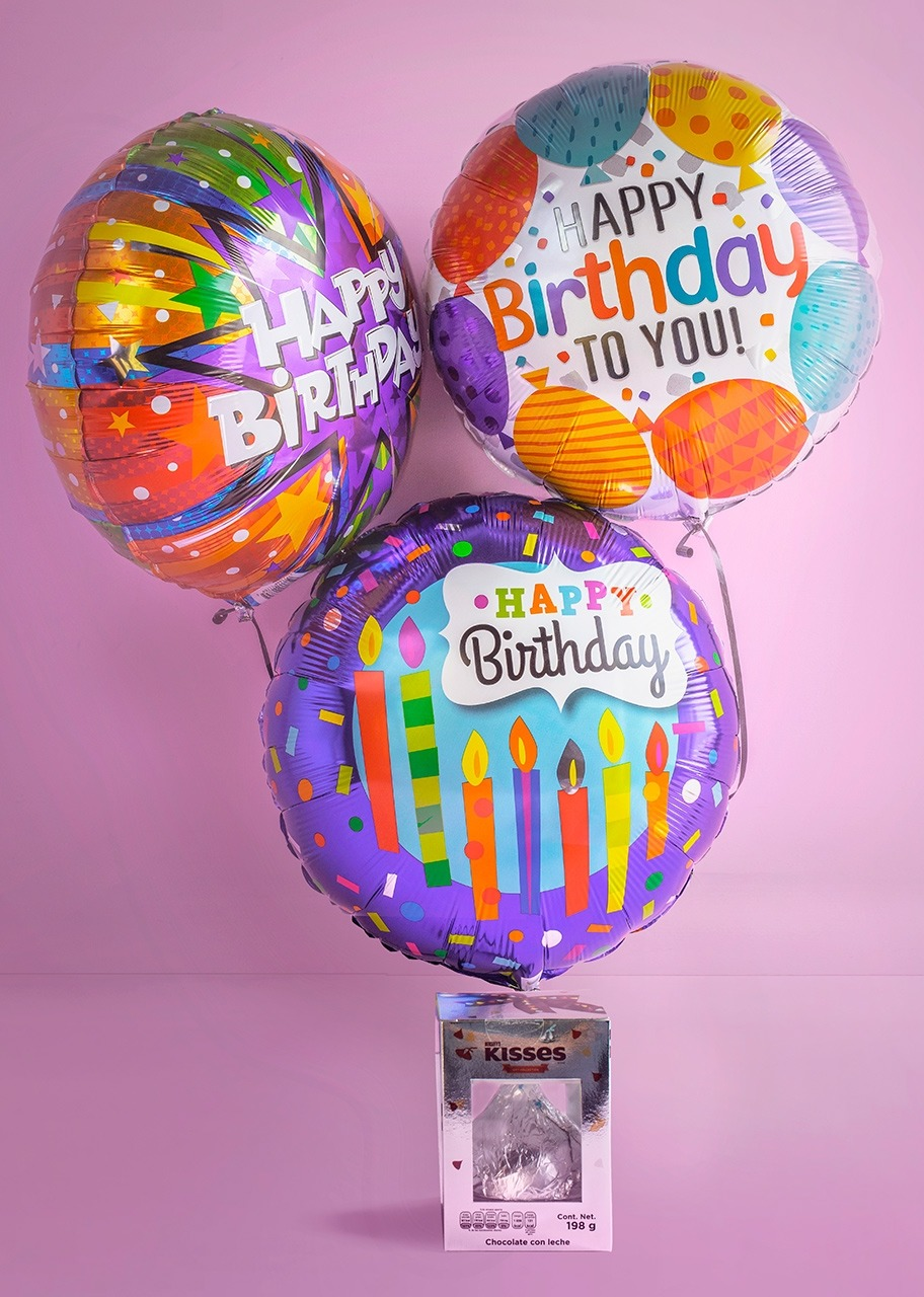 Imagen para ¡Happy Birthday! with Balloon Arrangement - 1