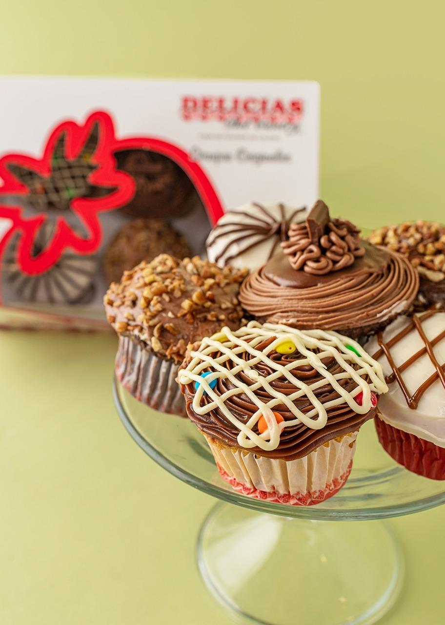 Imagen para Cupcakes 6 piezas Delicias - 1
