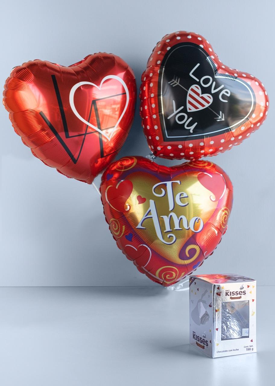 Imagen para Dulce Amor con arreglo de globos - 1