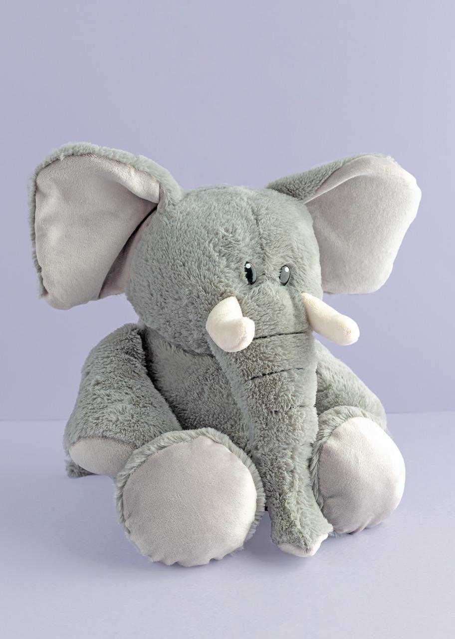 Imagen para Elefante de Peluche con Colmillos - 1