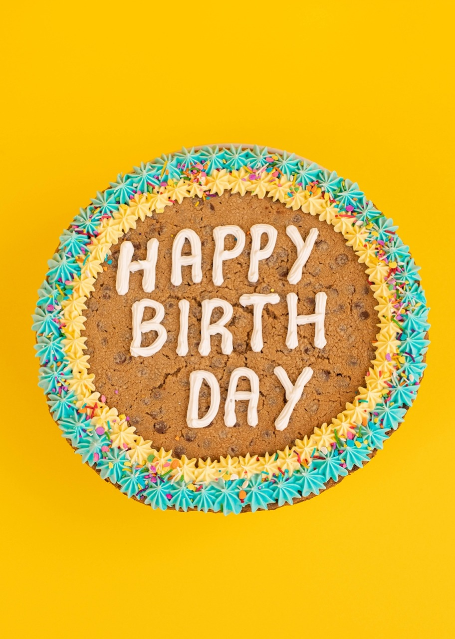 "Imagen para Galleta Gigante ""Happy Birthday"" - 1"