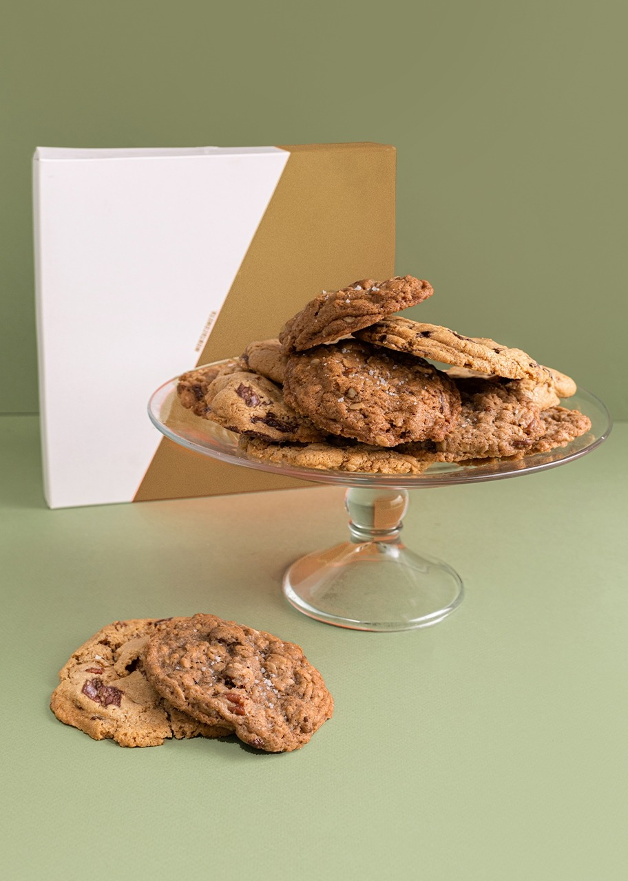 Imagen para 12 Christmas chocochip and Oats Cookie - 1
