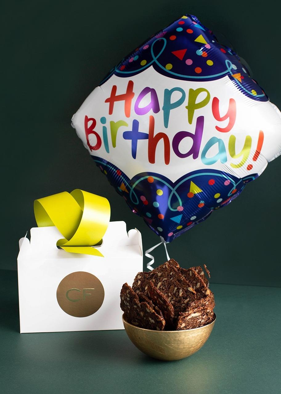 """Imagen para Melbas de arándano con globo """"Cumpleaños"""" - 1"""