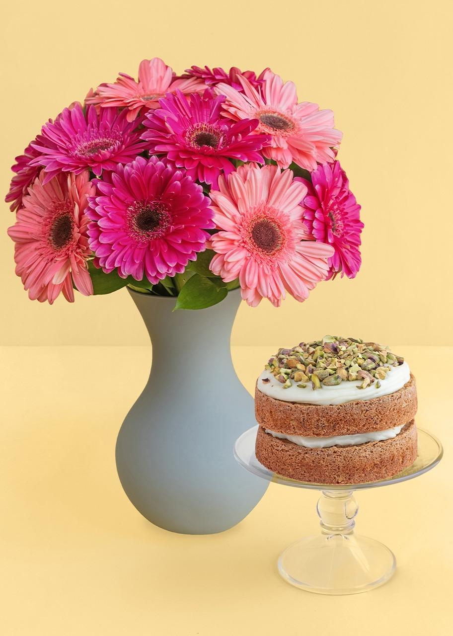 Imagen para Geberas combinado con pastel de pistache - 1