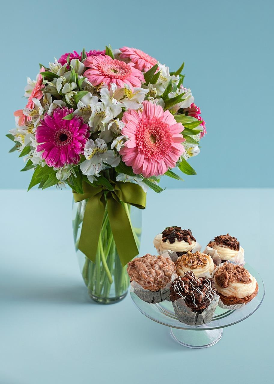 Imagen para Geberas con muffins 6 piezas - 1