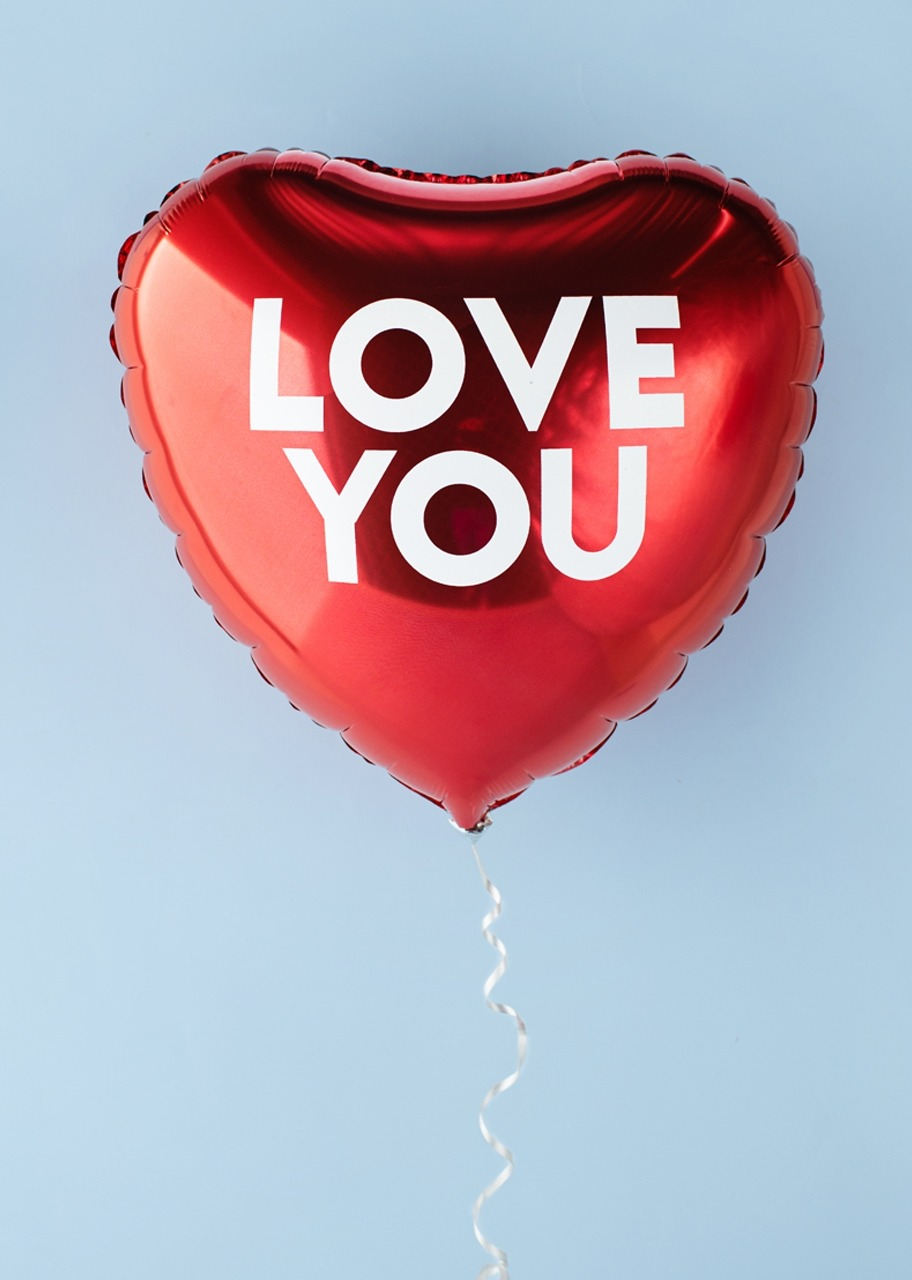 "Imagen para Red Balloon ""Love You"" - 1"