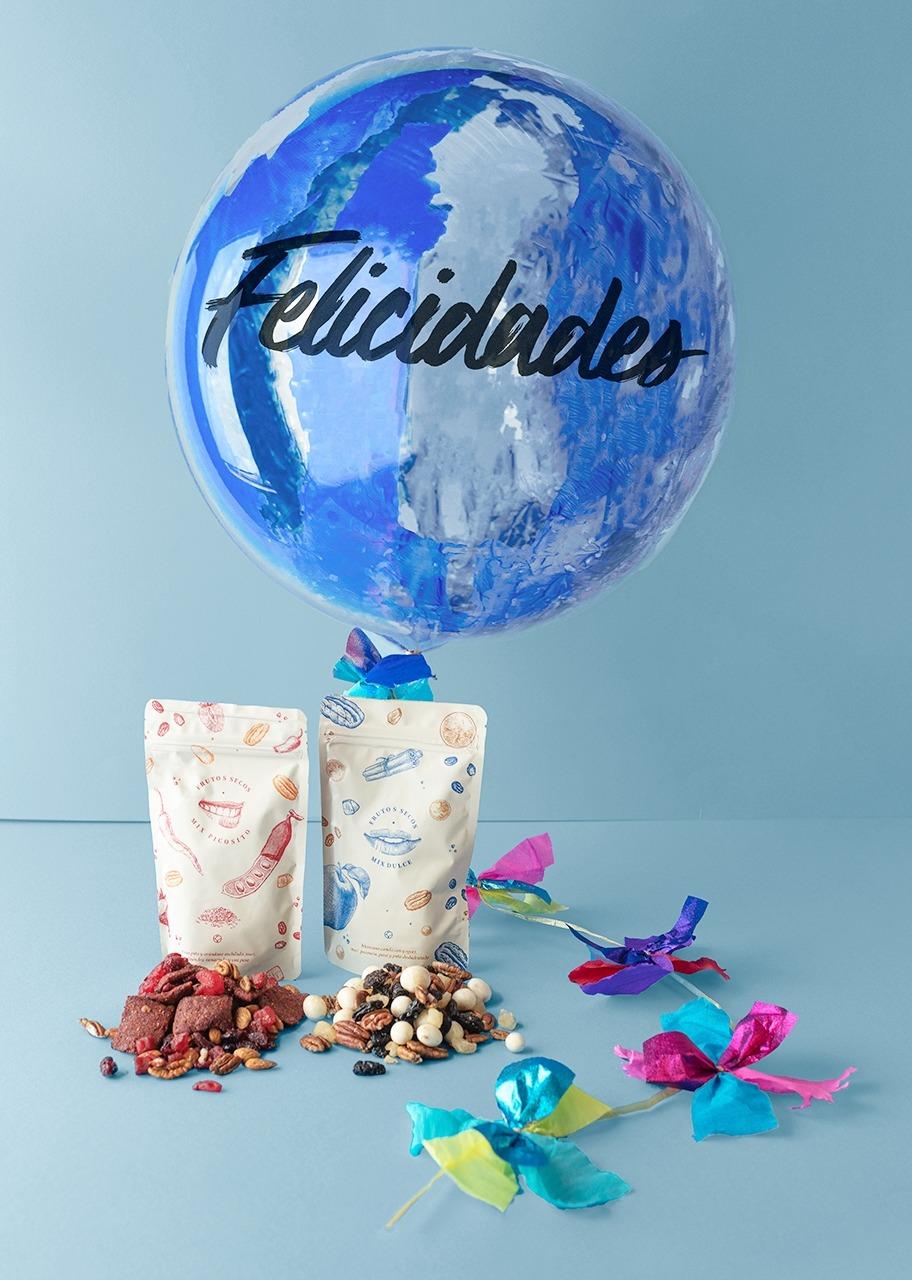 """Imagen para """"Congratulations"""" Bubble Balloon and snack - 1"""