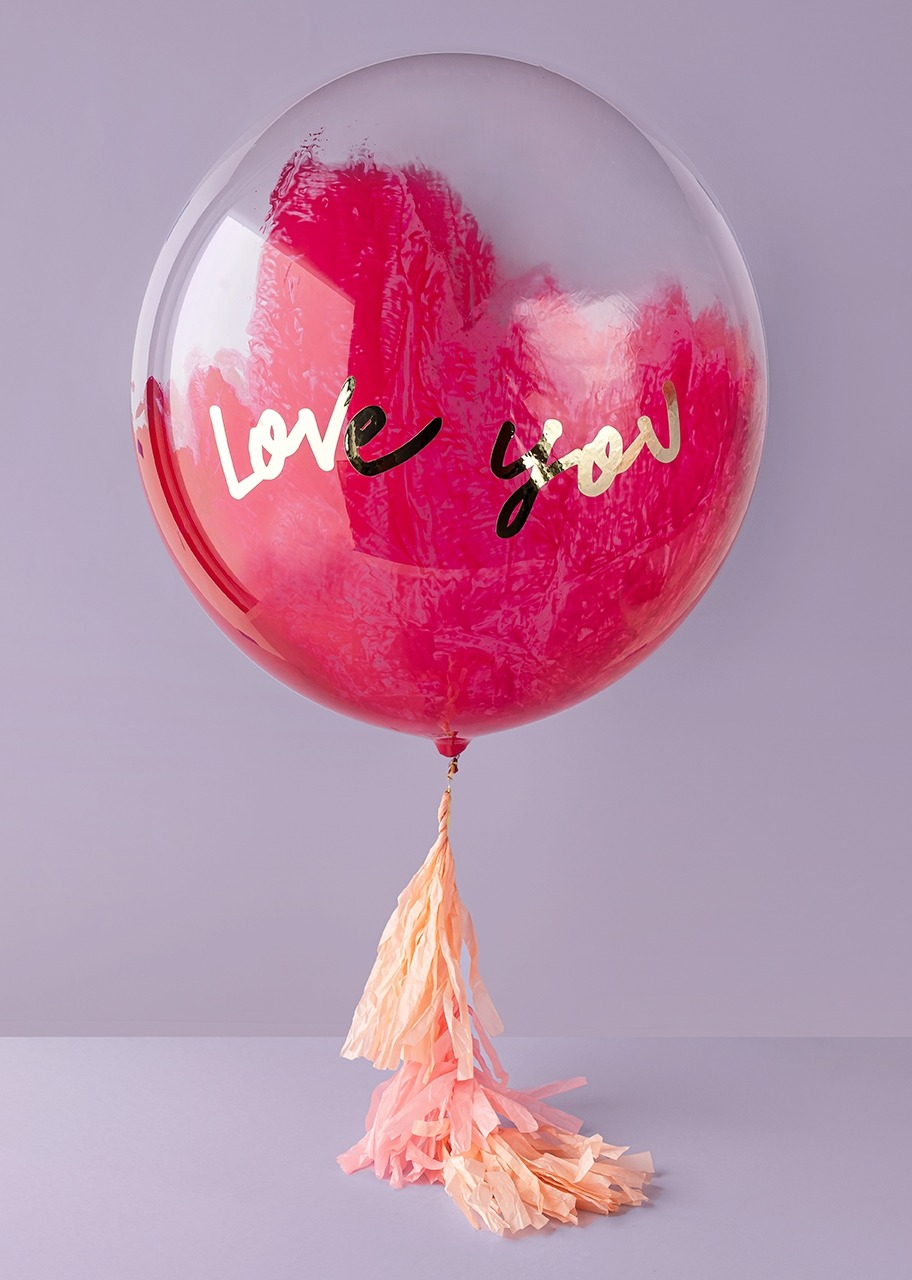 """Imagen para Globo Burbuja """"Love You"""" - 1"""
