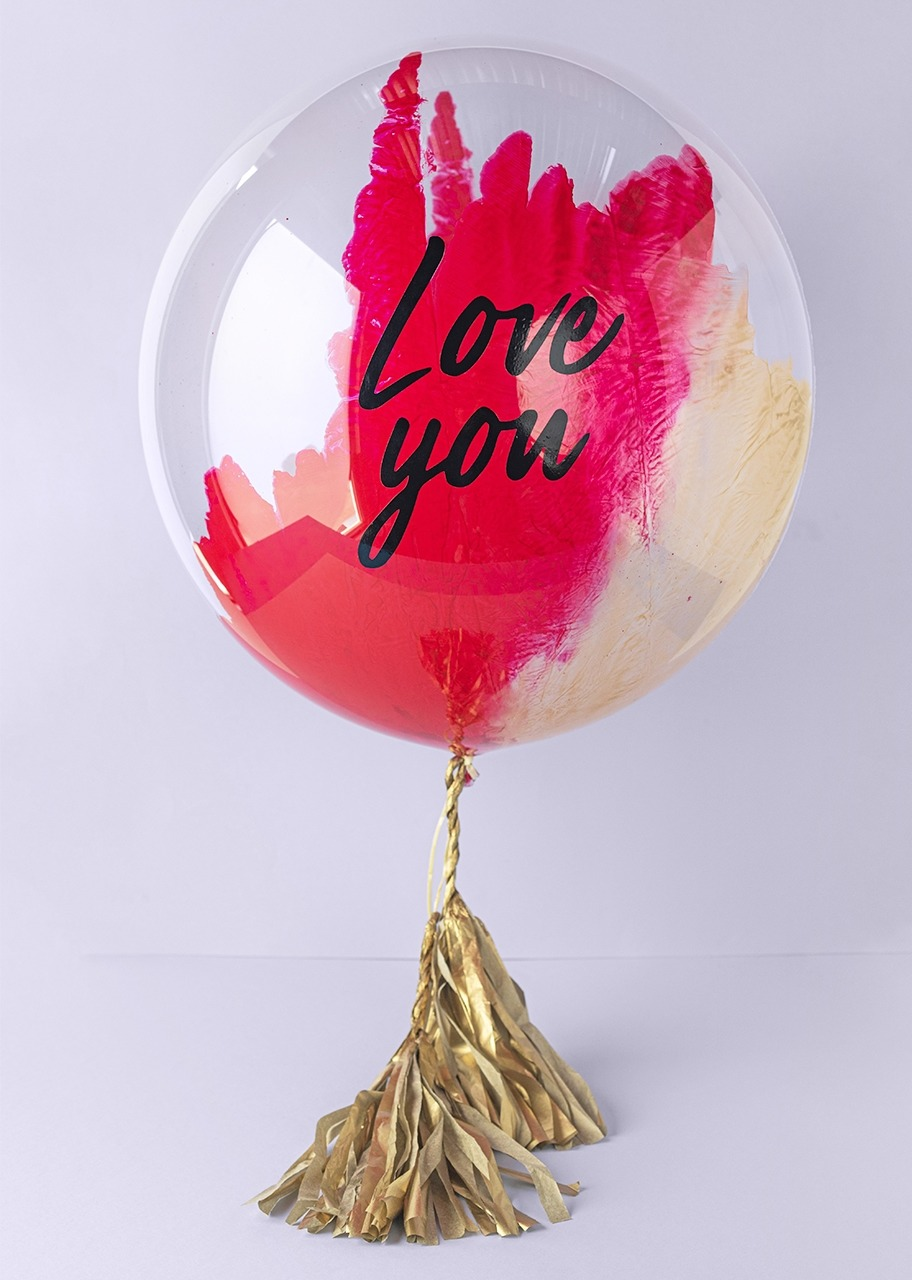 "Imagen para ""Love You"" Bubble Balloon - 1"