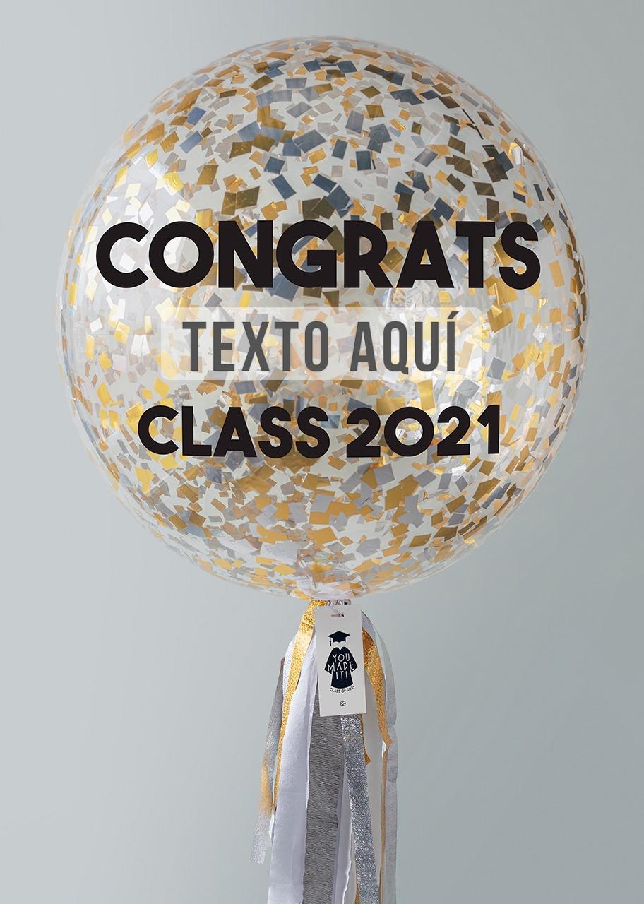 Imagen para Personaliza tu Globo de Graduación - 1