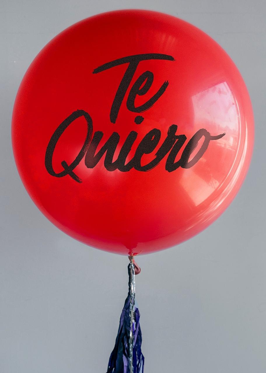 Imagen para Globo Gigante RojoTe quiero - 1