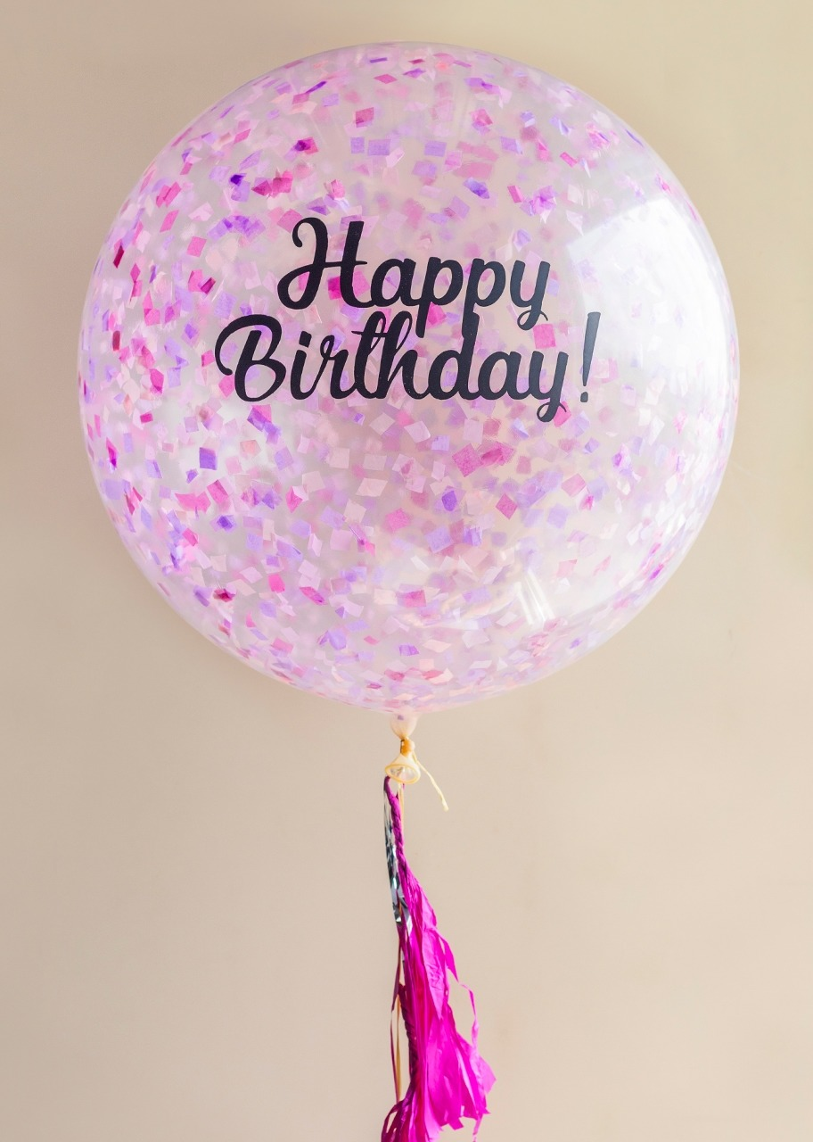 Imagen para Giant Birthday Balloon - 1