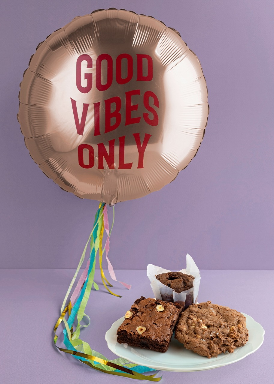 Imagen para Globo good vibes con caja surtida - 1