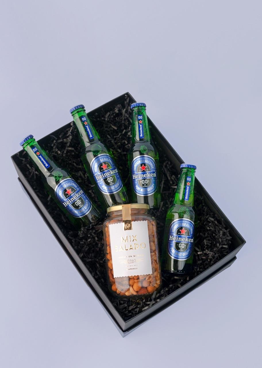 Imagen para Cerveza Heineken 0.0 Giftbox - 1