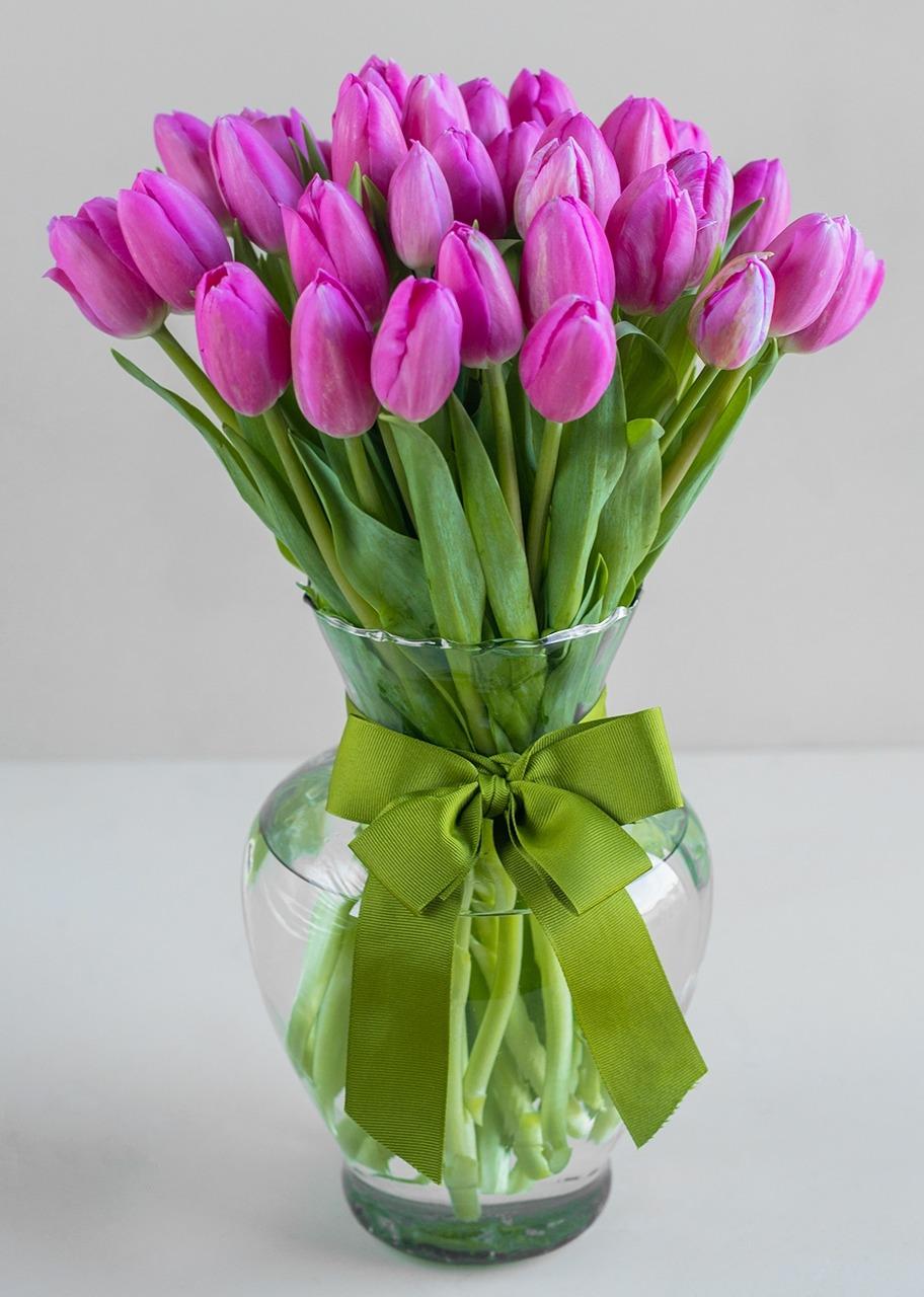 Imagen para Magnifica Ternura arreglo con 40 tulipanes - 1