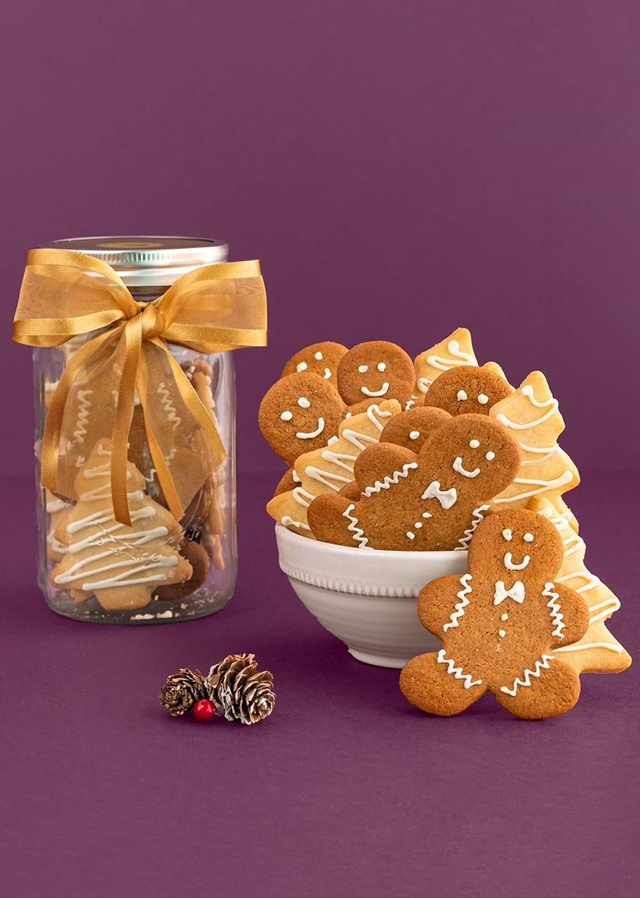 Imagen para Mason galletas mantequilla y jengibre - 1