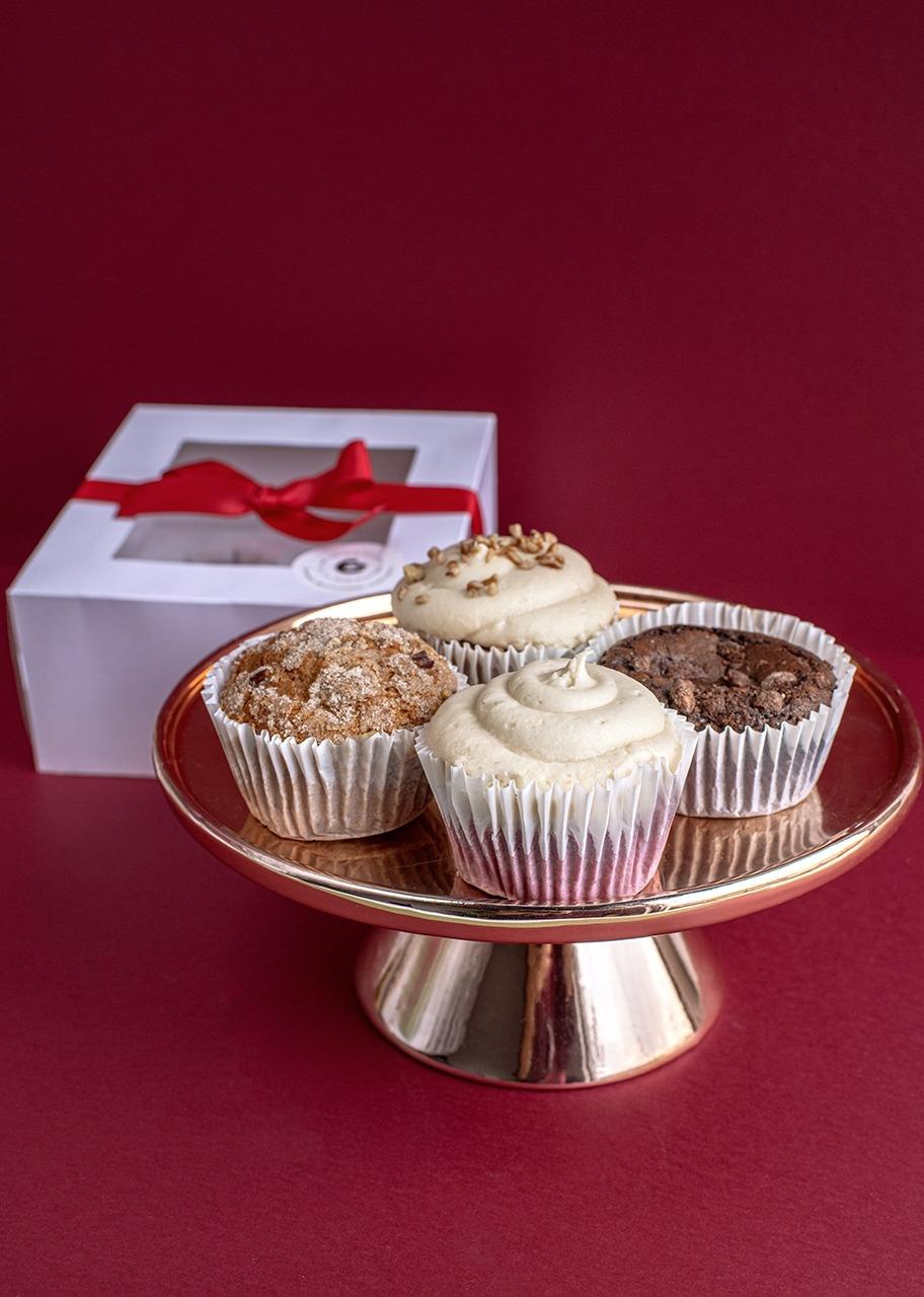 Imagen para 4 Christmas Muffins - 1