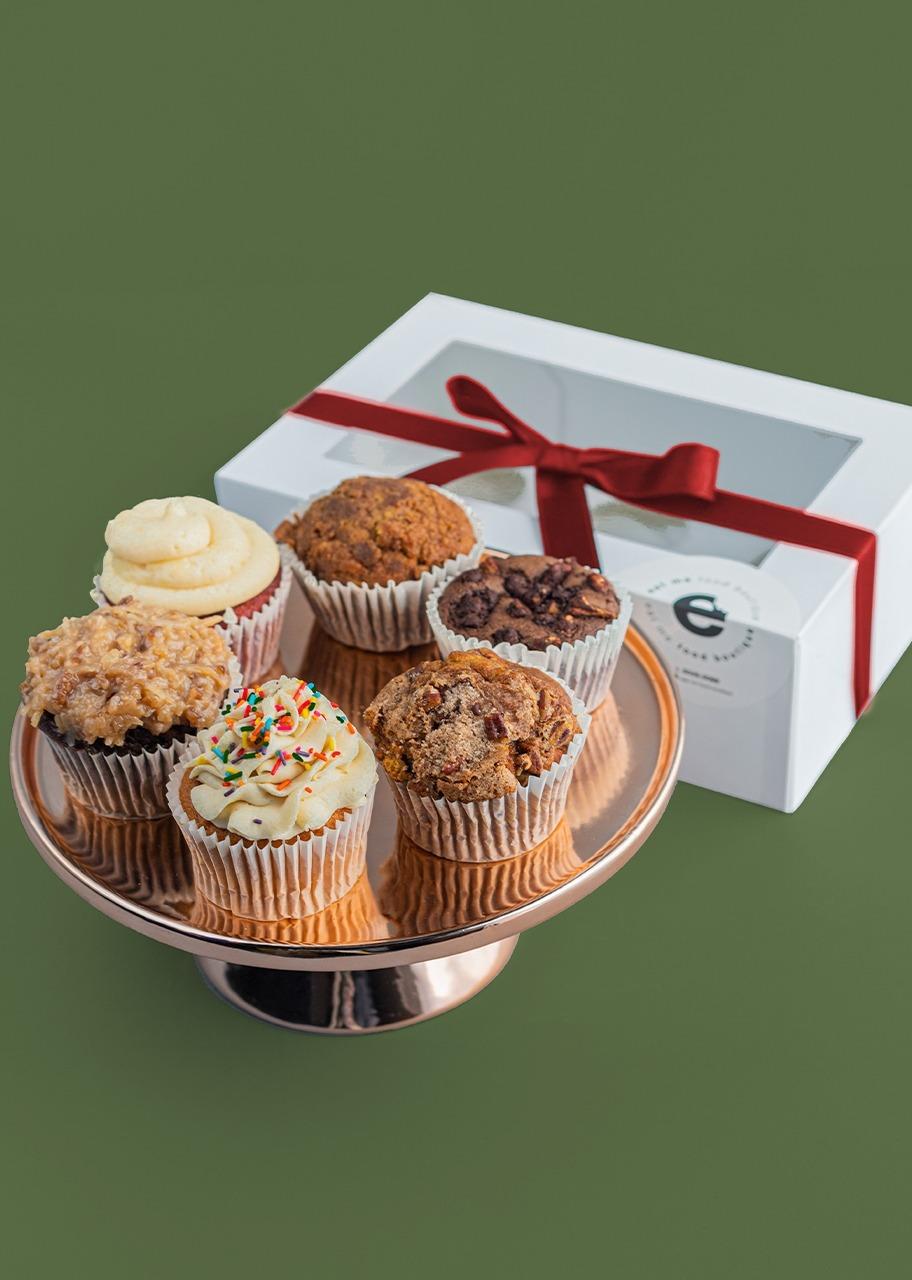 Imagen para Muffins 6 pz Navidad - 1