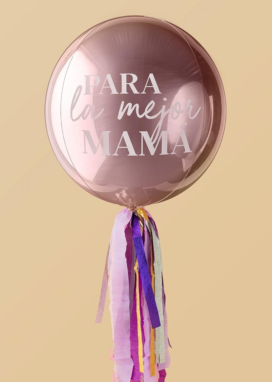 """Imagen para Globo Orbz con frase """"Para la mejor Mamá"""" - 1"""