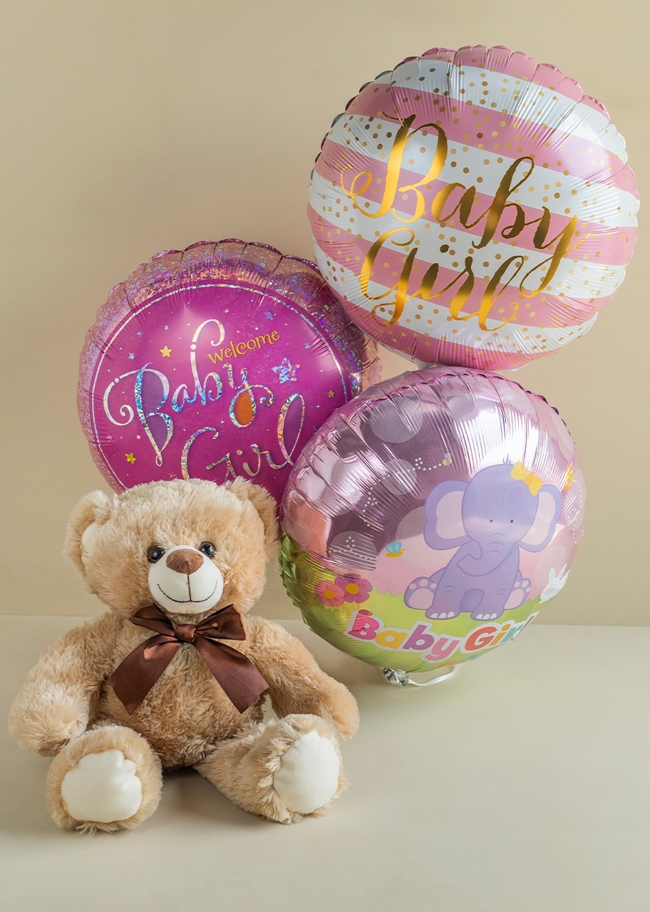 Imagen para Arrangement for Baby with Teddy Bear - 1