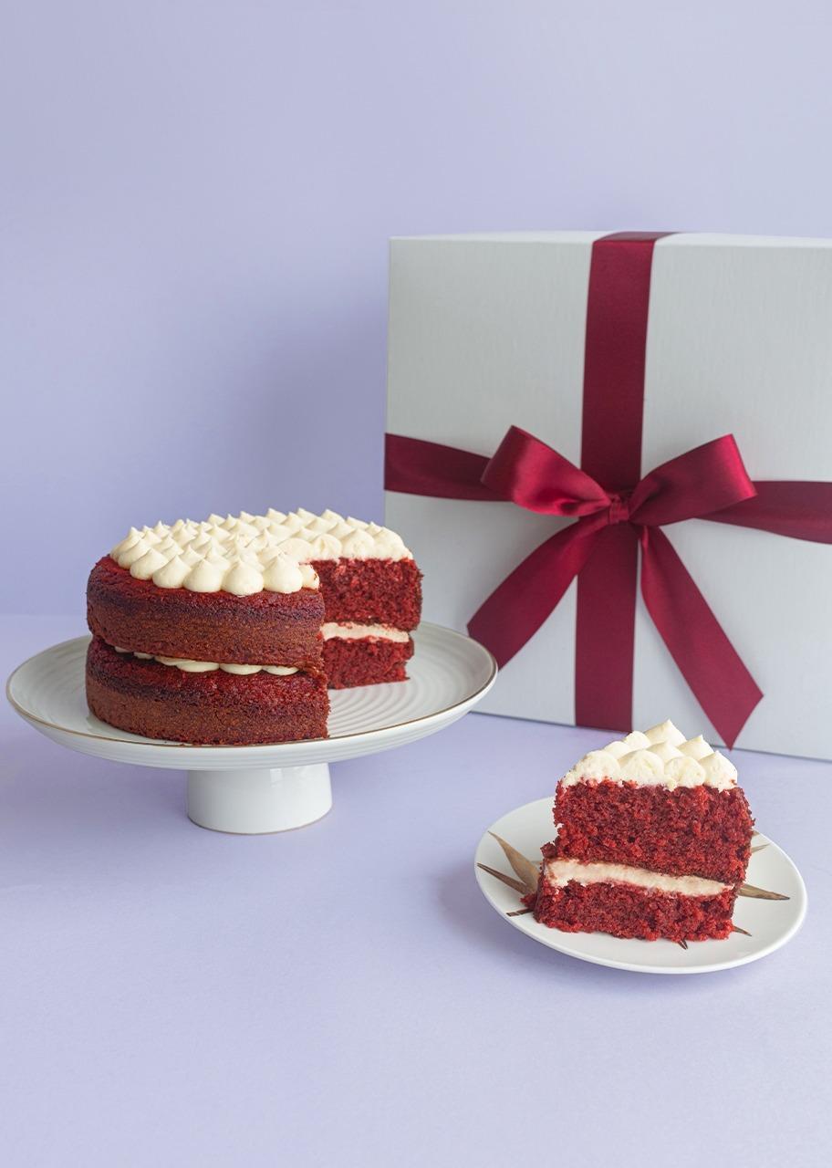 Imagen para Pastel Red Velvet Navidad - 1