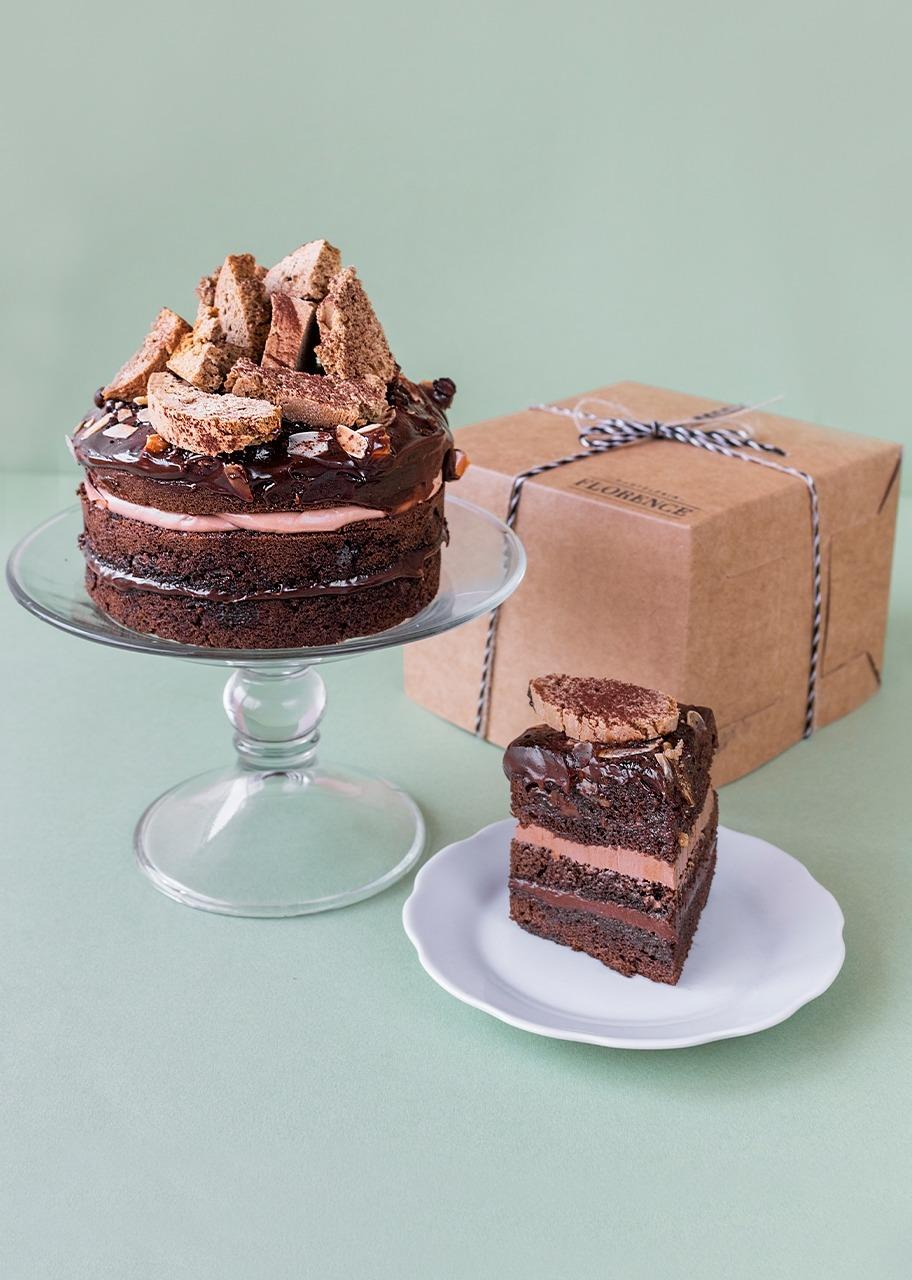 Imagen para Pastel de chocolate Baileys - 1