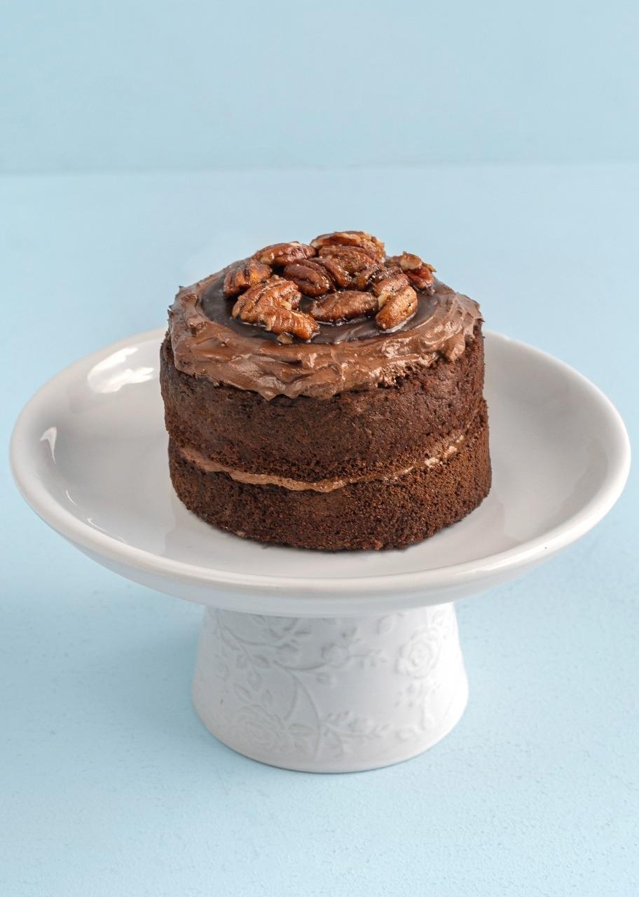 Imagen para Pastel triple chocolate individual - 1