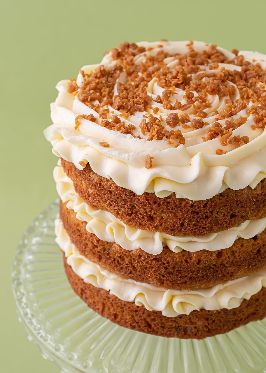 Imagen para Pastel zanahoria con toffee Kuchen - 1