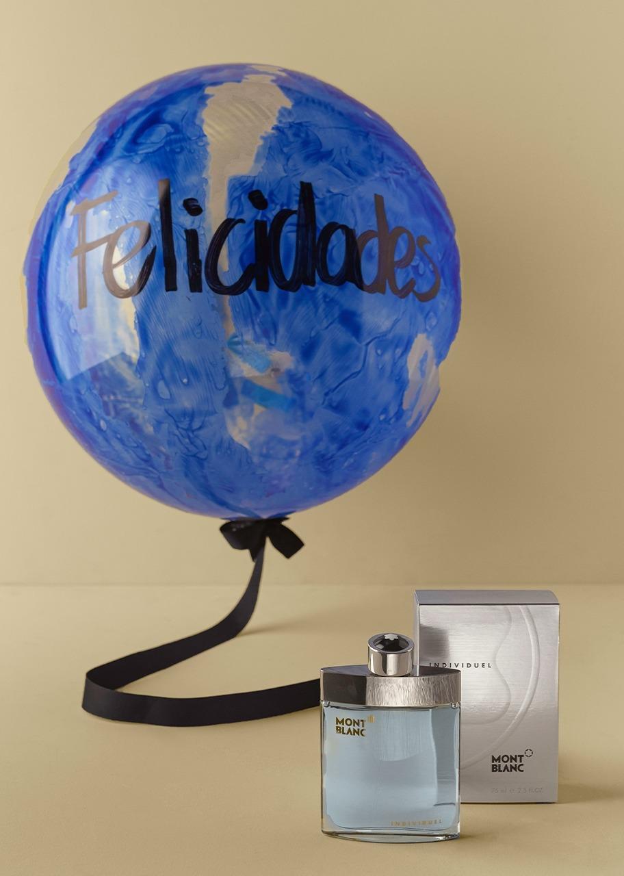 Imagen para Perfume Mont Blanc y Globo de Felicidades - 1