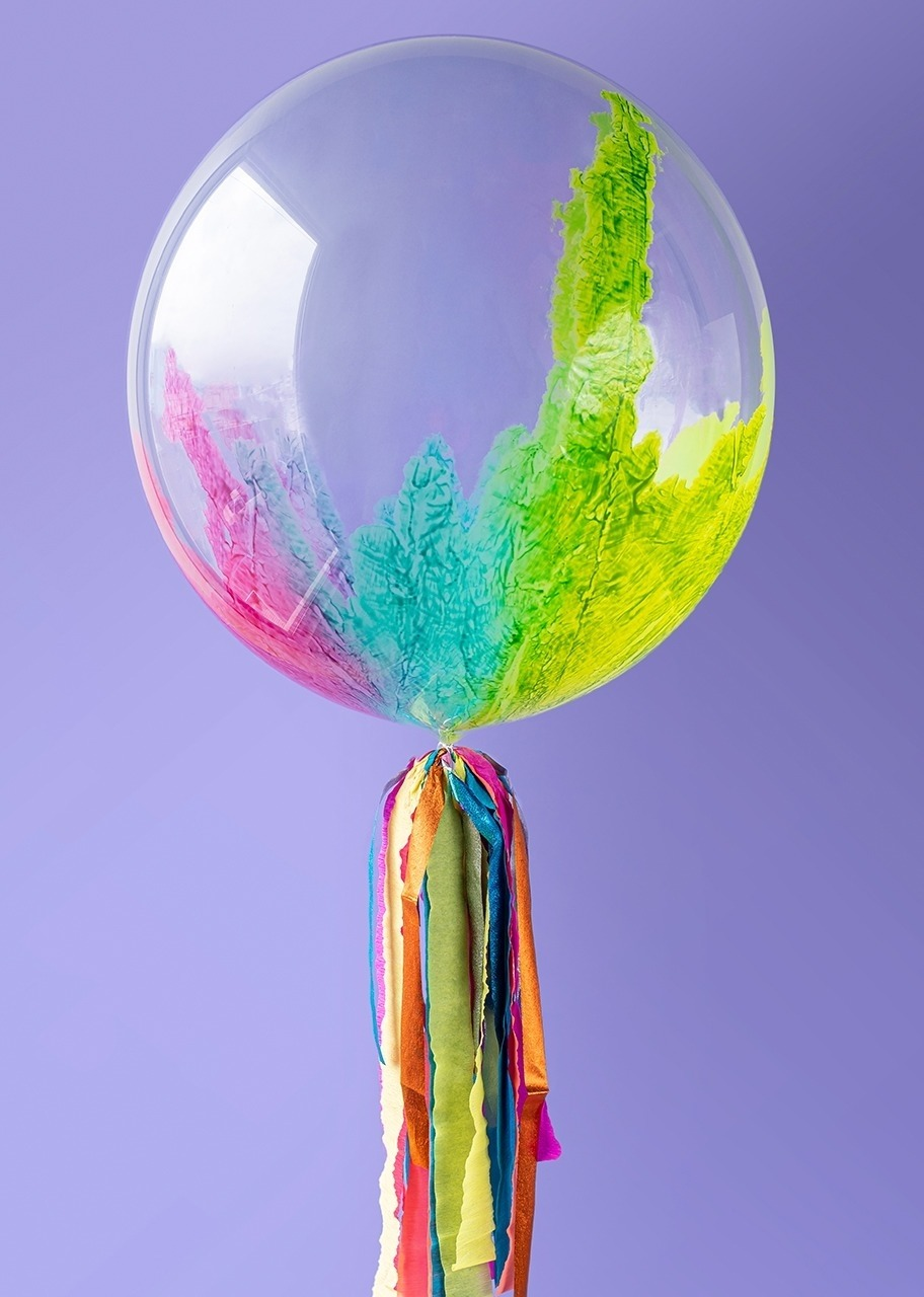 Imagen para Personaliza tu Globo Burbuja Arcoiris - 6