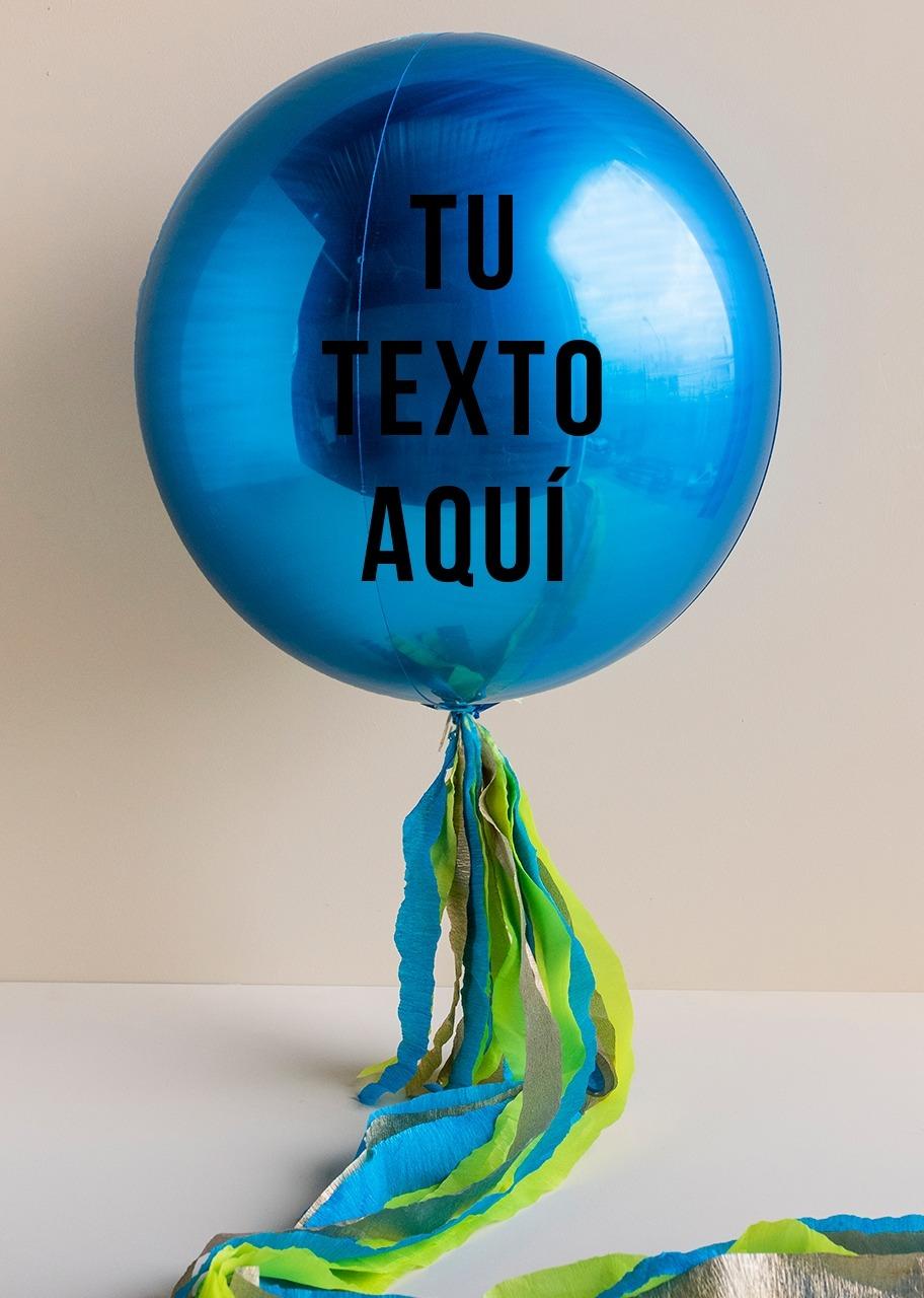 Imagen para Personaliza tu Globo Orbz Azul - 1