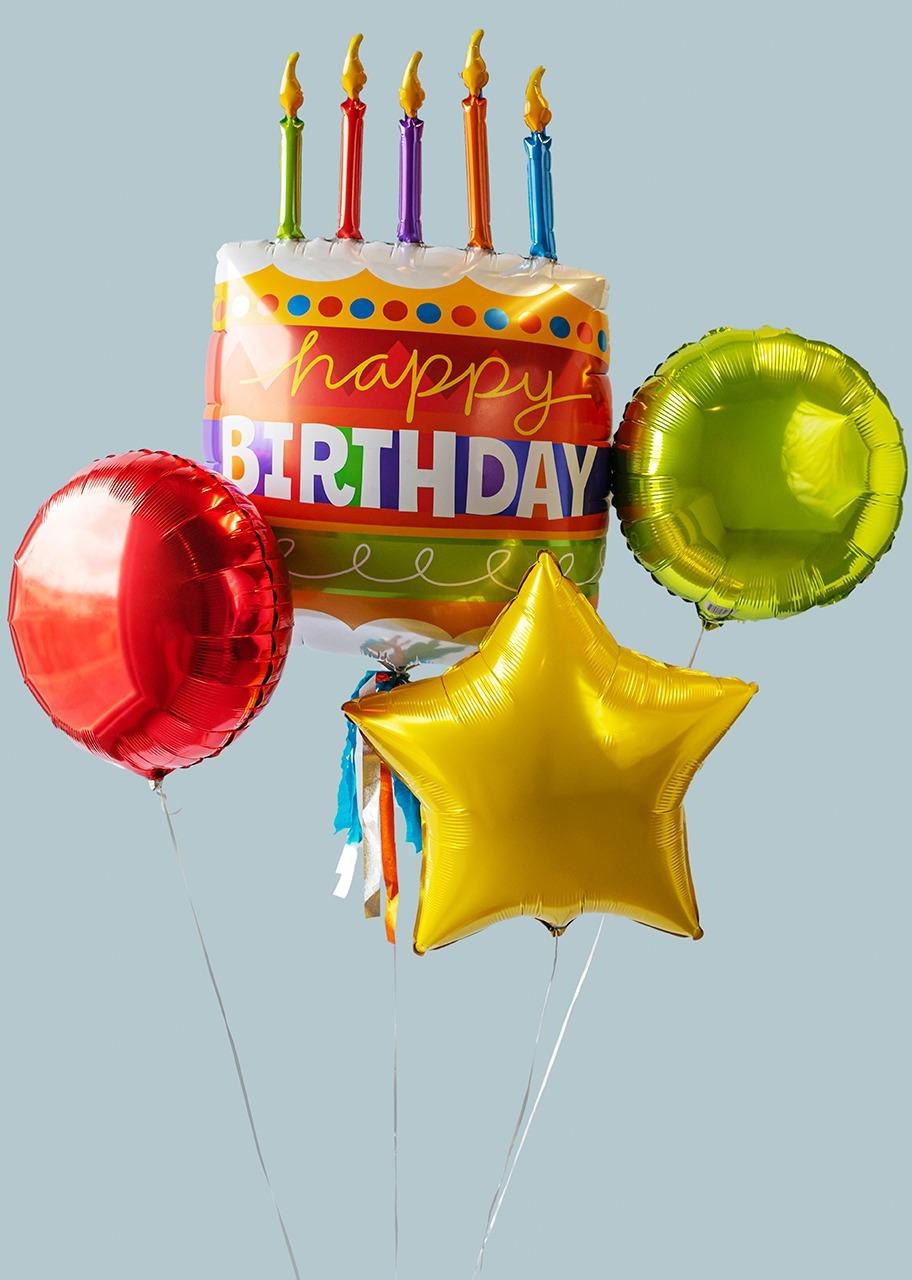 """Imagen para Arreglo de Globos """"Happy Birthday"""" - 1"""