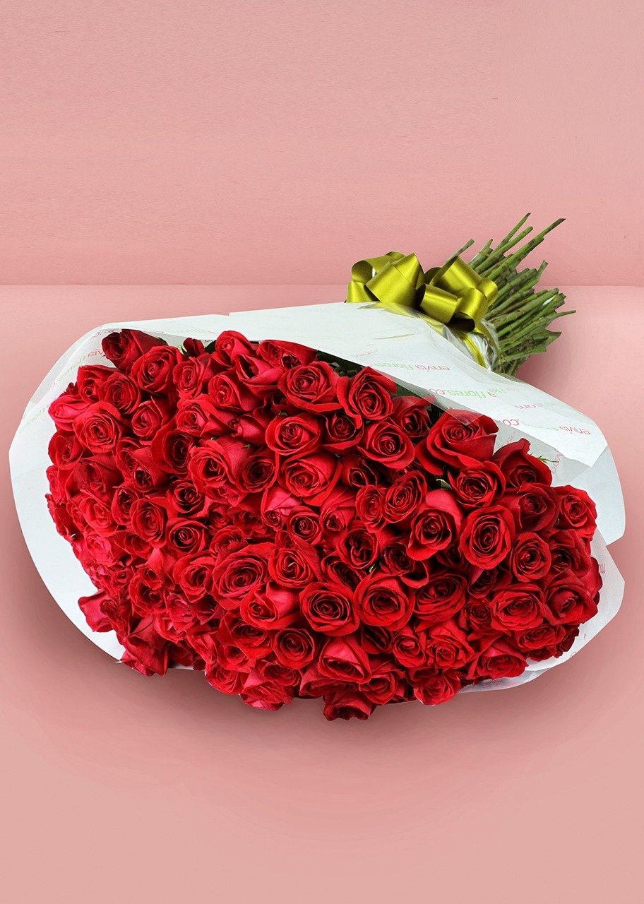 Imagen para Ramo con 150 Rosas Rojas Enviaflores - 1