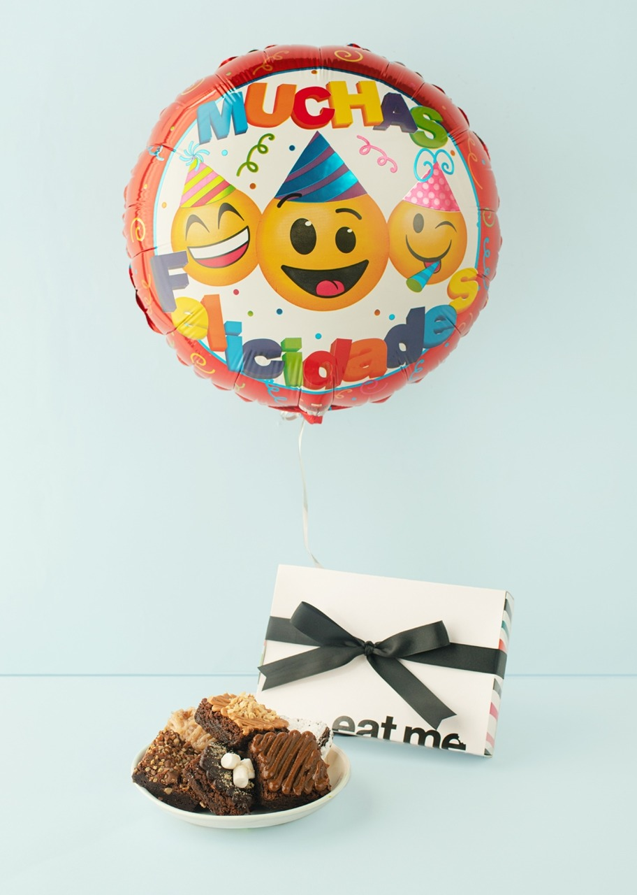 Imagen para Regalo Brownies y globo de cumpleaños - 1