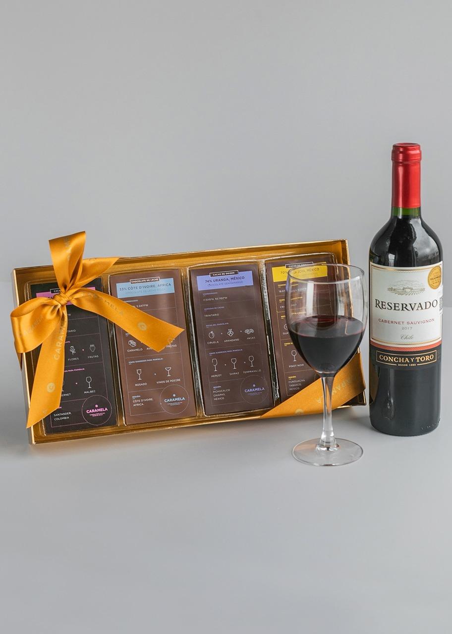 Imagen para Regalo Chocolates Maridaje con Vino - 1
