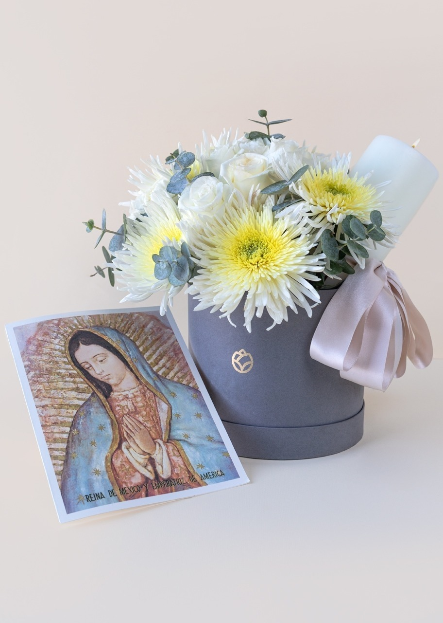 Imagen para Rosas y Claveles con Cirio y Misa - 1
