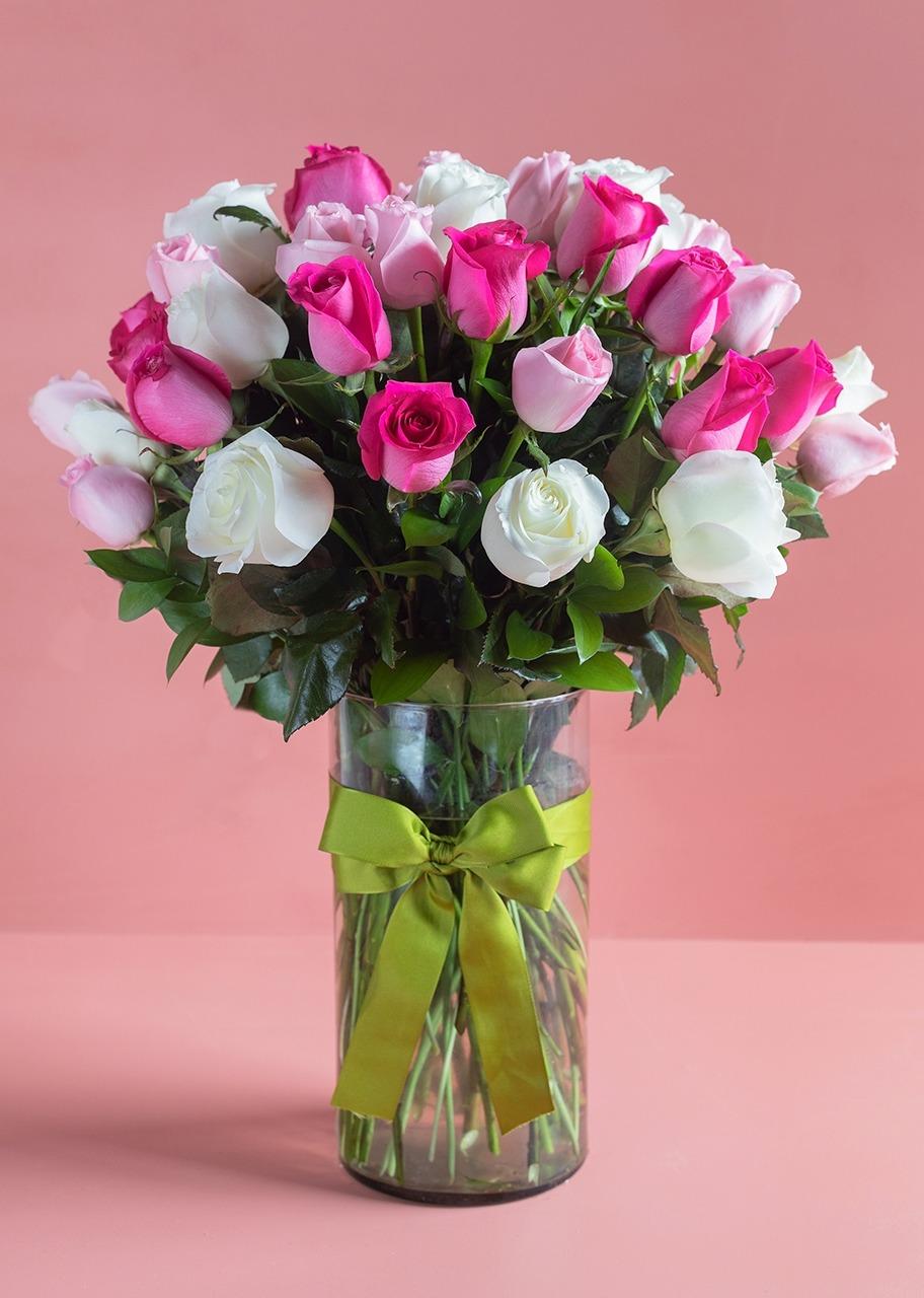 Imagen para Solamente nosotros arreglo con 50 rosas - 1