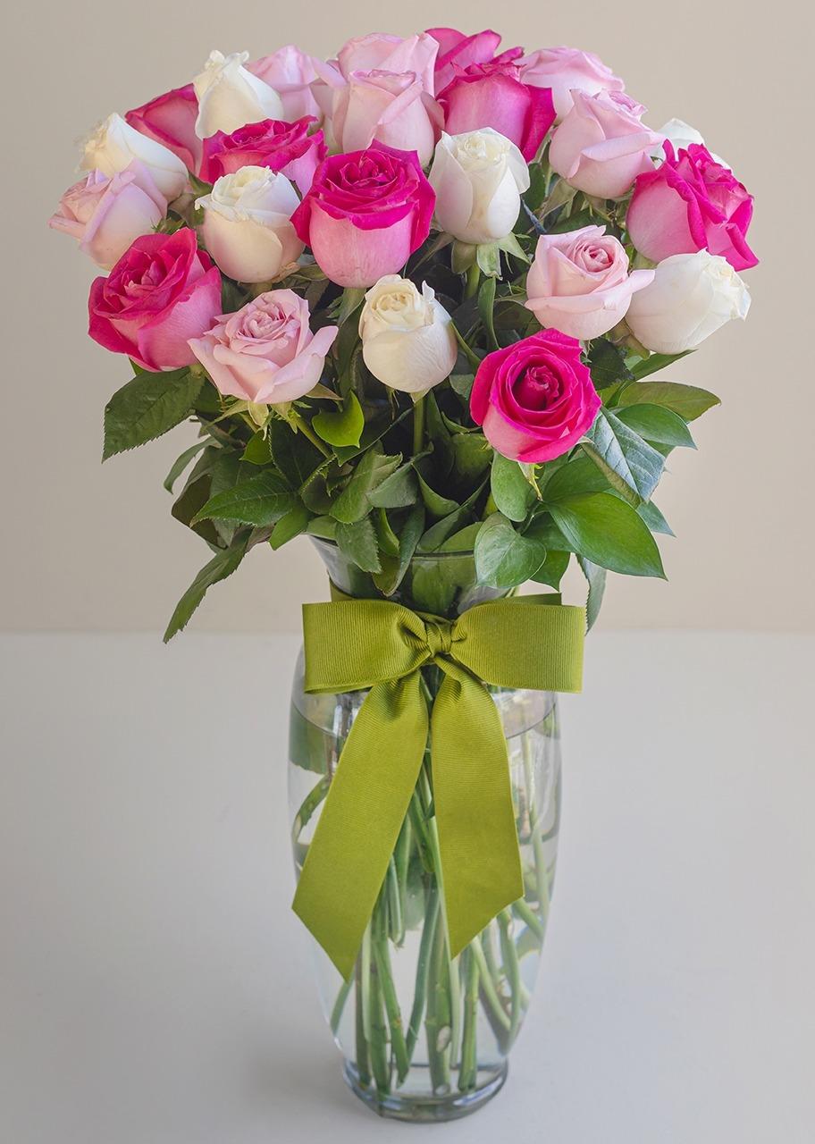 Imagen para Solamente tú arreglo de 24 rosas - 1