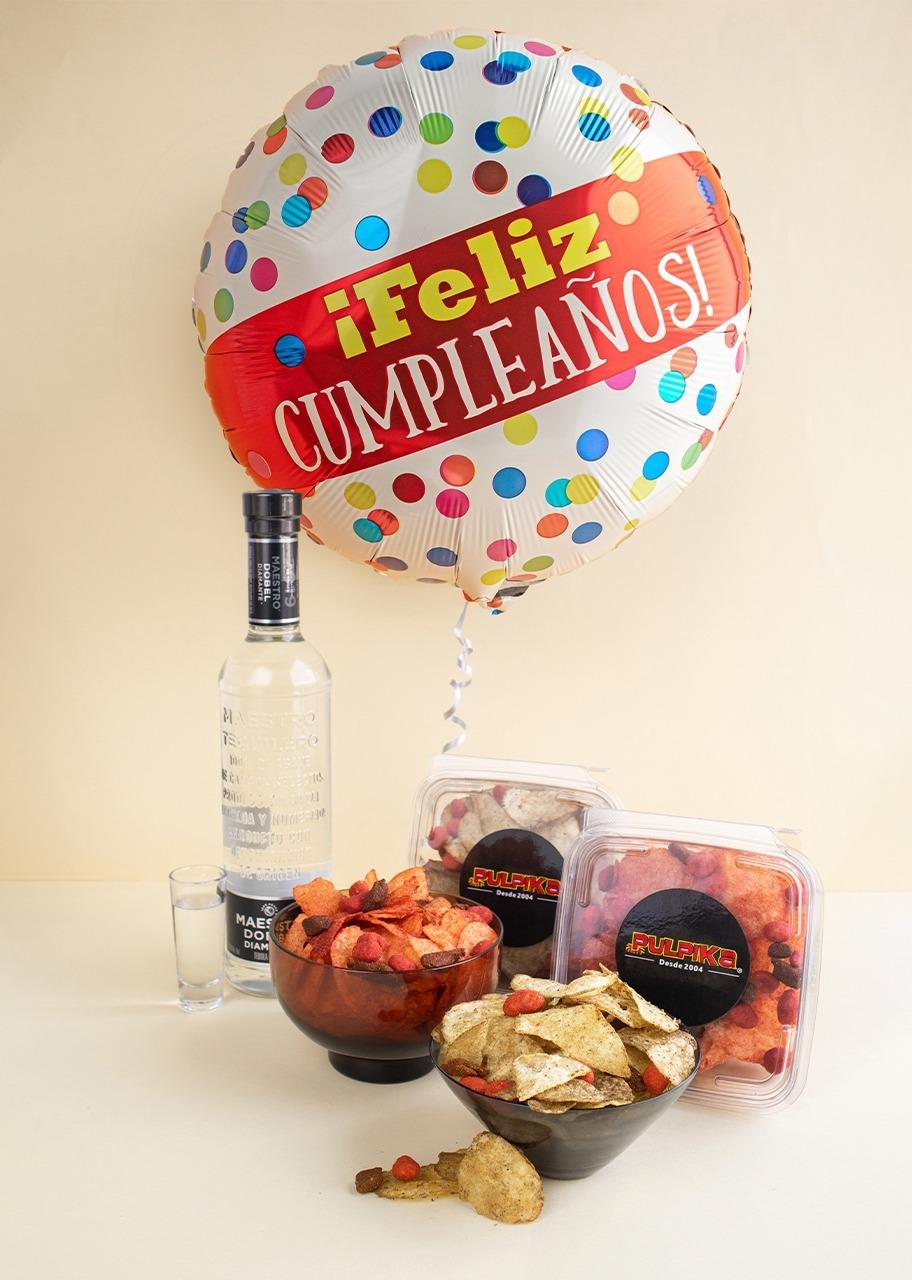 Imagen para Tequila con Botana Pulpika y Globo - 1