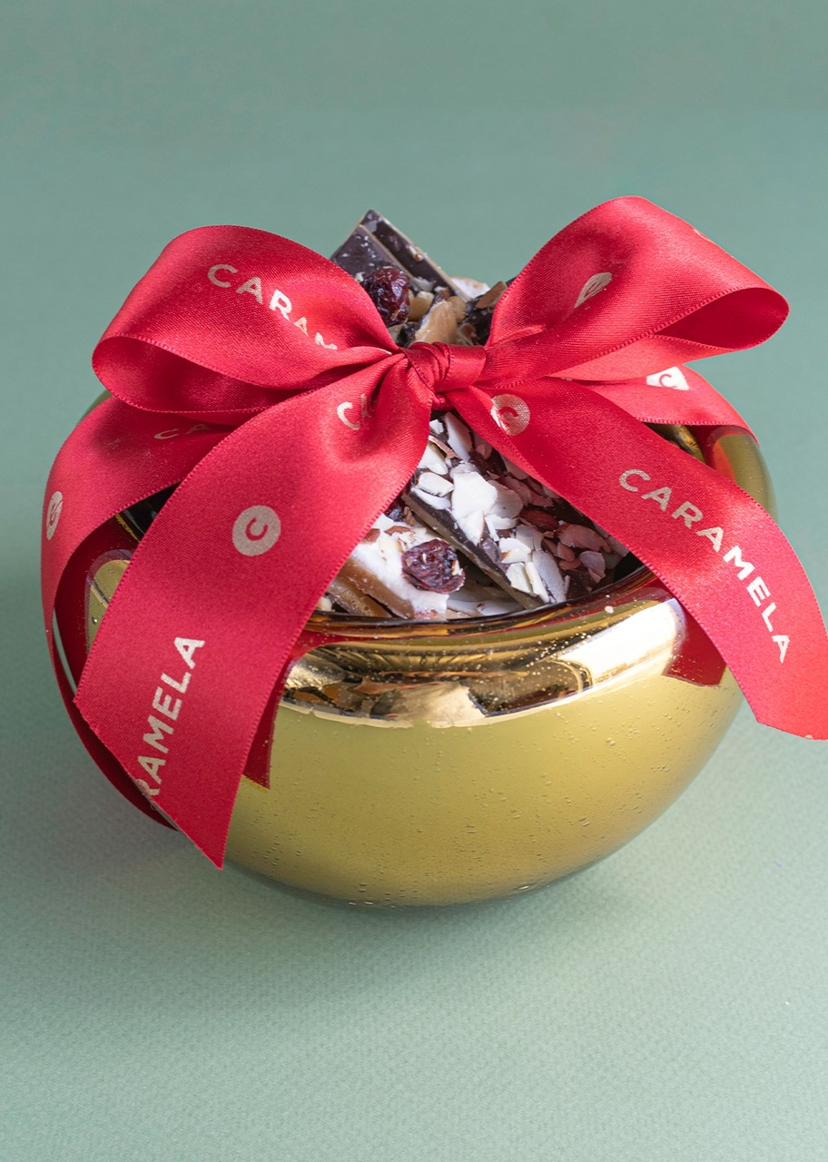 Imagen para Small Christmas toffee sphere - 1