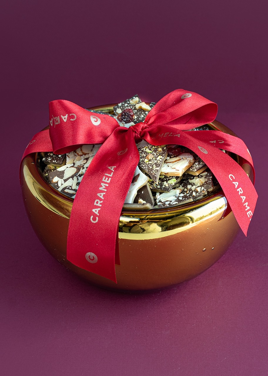Imagen para Toffee Medium Christmas Sphere - 1