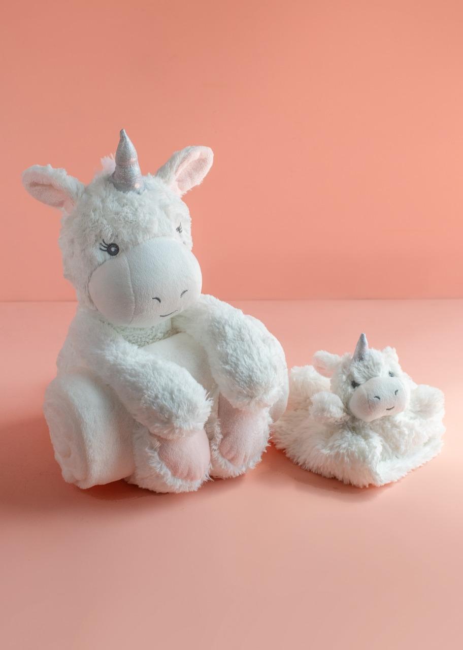 Imagen para Unicornio con Colcha y Manta de Seguridad - 1