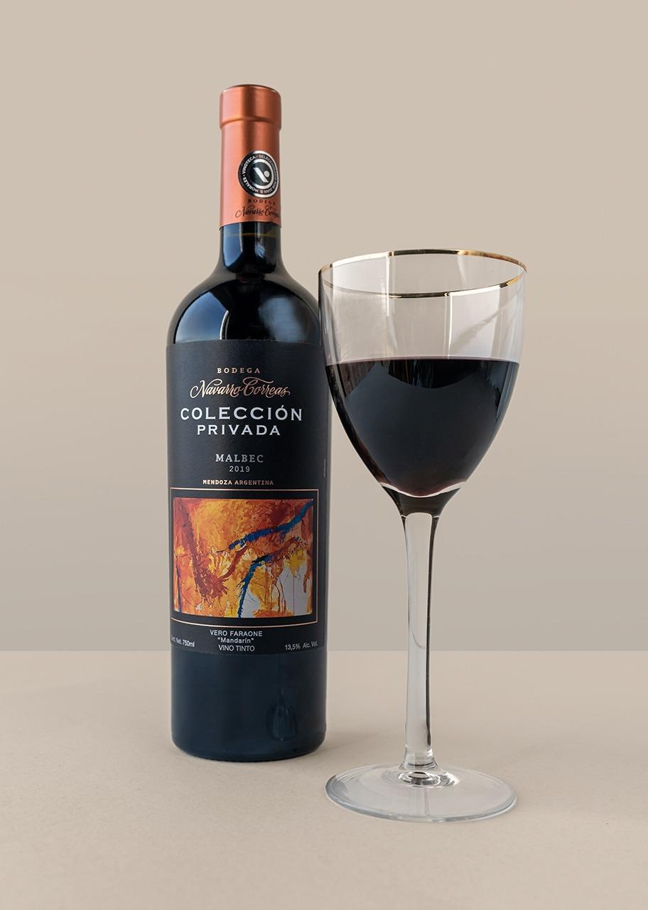 Imagen para Red Wine Navarro Correas Colección Privada Malbec - 1